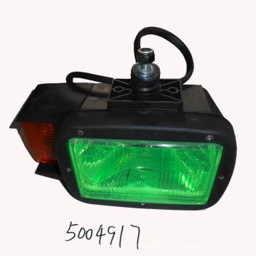 Left front flood light 5004917 for loader parts