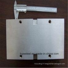 Plaque en alliage de titane Gr. 5 (TC4) Plaque en alliage