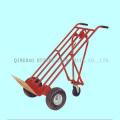 carrinho de mão de três rodas, capacidade de 200kgs, com roda de fo
