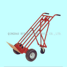 three-wheel hand trolley,200kgs capacity, with one-wheel fo
