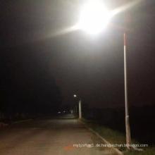 Professionelles Solarprojekt von 70W LED 8m Straßenlaterne mit Lithium-Batterie