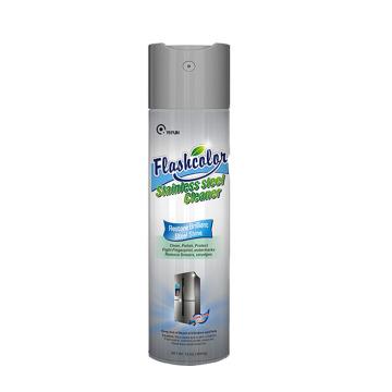 Spray de limpeza de aço inoxidável