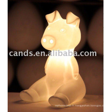 Lampe de bureau en céramique pour lampe de table lecture enfants