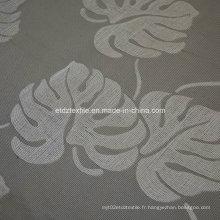 Tissu de rideau de conception de fleurs de chocolat de chocolat populaire pour chocolat