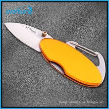 Открытый инструмент кнопка восхождение карабин для кемпинга/вниз