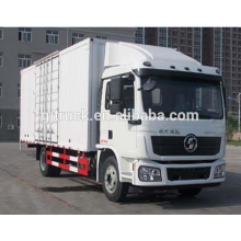 6*4 drive 25T Shacman brand van truck/Shacman van box truck/Shannqi van transport truck/ Shacman cargo box transport truck