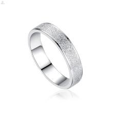 Homens de casamento Jóias Moda Aço Inoxidável Banda de Prata Casal Engrave Anel