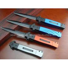 Stiletto de poignée en aluminium de 8,6 po (SE-113)