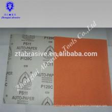 Hochwertiges wasserfestes Sandpapier in Sandpapier für Holz