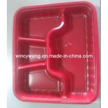 Placa de servicio de plástico rojo (HL-157)