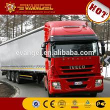 Caminhões diesel da carga do tipo IVECO do caminhão 4x4 mini diesel para a venda dimensões do caminhão da carga 10t de diesel mini