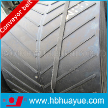 High Quality Inclined Mobile Rubber Pattern Conveyor Belt (open/Endelss)