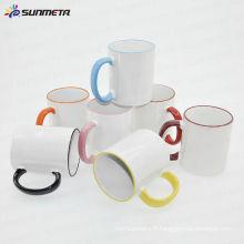 Tasse en céramique de sublimation 11oz à prix réduit en gros
