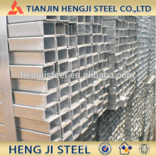 Square / Rectangle Galvanized Steel Tube Thickness 3.75mm