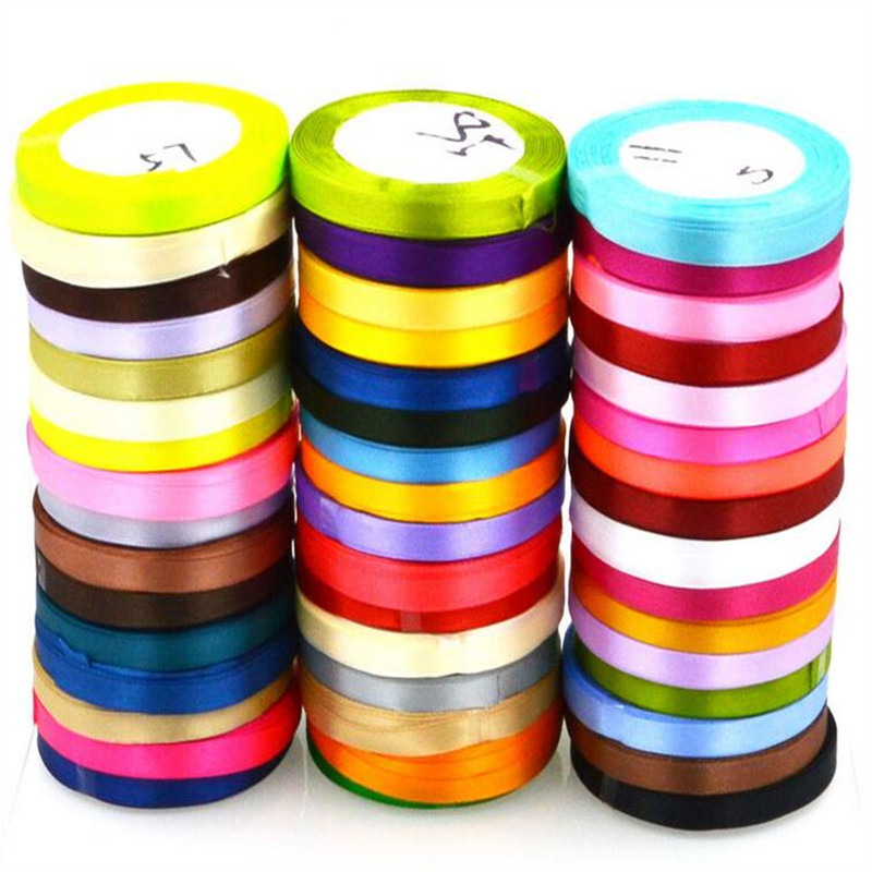 Colorful elastic ribbon tape