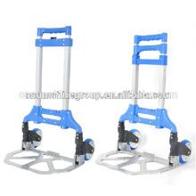 Foldable logistic trolley/warehouse trolley.