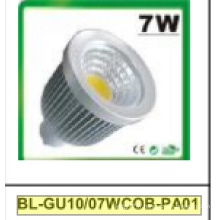 Projecteur de 7W Dimmable GU10 COB LED