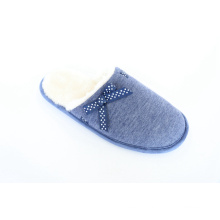 Women′s Indoor Slipper with Gross Grain Bow