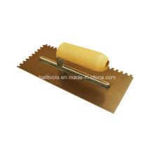 Carbon Steel Plastering Trowel with Teeth