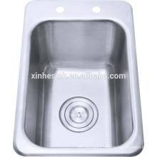 Bathroom sinks stainless steel wash basin