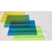 Feuille de toiture ondulée en polycarbonate léger