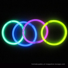 pulseira de brilho com fluorescente