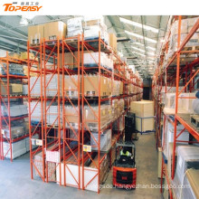 warehouse steel pallet storage double deep rack