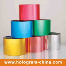 Colorful Tamper Evident Aluminum Embossing Film