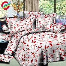wholesale 100% cotton flat disperse 3d bedding sheet fabric