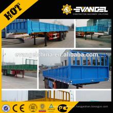 Novo Strong CIMC Semi-reboque para 30-70 toneladas de Transporte Pesado