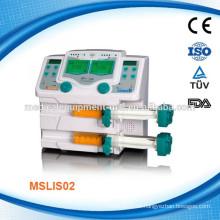 Doppelkanal-medizinische Spritzenpumpe MSLIS02
