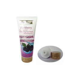 300ml organic plastic empty soft tube for face washing