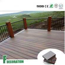 Co-Extrusion WPC Solid Core Composite Decking Boards