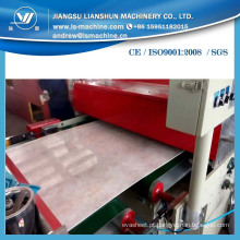 Fabricante para a máquina da folha da pedra de mármore do falso do PVC