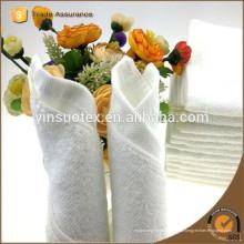 Toalla de algodón de deporte de grado superior toalla blanca