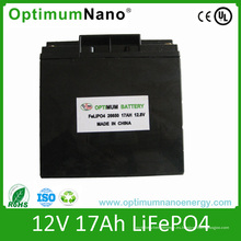 Batería de litio 12V 17ah para TV y UPS con PCM
