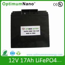 Batterie au lithium 12V 17ah pour TV et UPS avec PCM