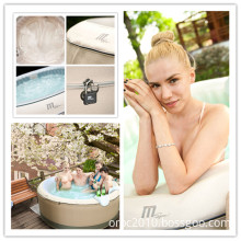 Mspa - Portable Inflatable Hot Tub, Outdoor Massage SPA (Birkin M-1125S)