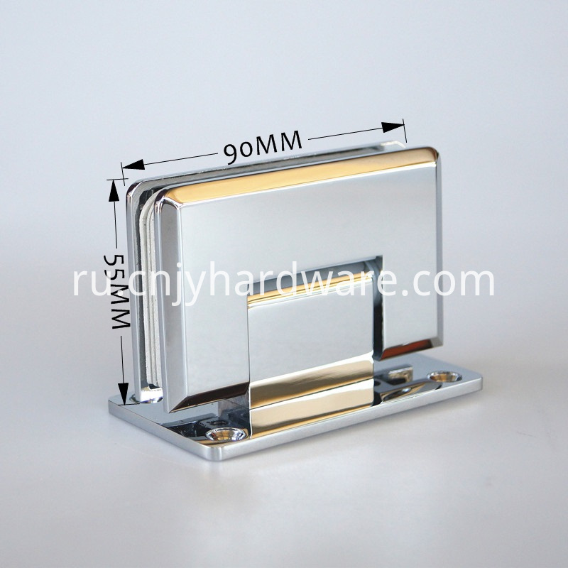 90 Degree Glass Hinge