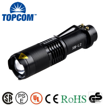 TP - 68L 18650 Rechargeable Battery Powered High Powerful Zoom MINI LED Flashlight