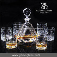 Crystal Glass Wine Decanter for Scotch