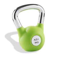 Rubber Coated Fitness Training Kettlebell