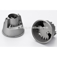 Die casting production led light housing fixture cast& forged machinery