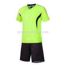 2017 OEM personalizado futebol jersey reversa sublimação impressão uniforme de futebol conjuntos para homens