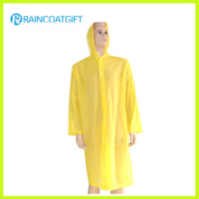 Long Sleeve Yellow Disposbale Raincoat