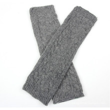 Ladies Fashion Acrylic Knitted Winter Arm Warmer (YKY5449)