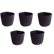 2017  High Quality Black Fabric Grow Bags