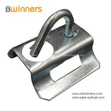 Gancho de acero inoxidable para colgar el cable de la abrazadera