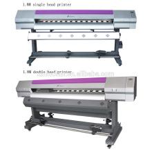 1.8 метра два Epson печатающая головка (головки печати dx5 или dx7 с) холст принтер