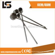 304 material brillante de acero inoxidable que sella piezas con la cortadora del laser